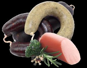 UK-Wurst-Koch- und Streichwurst